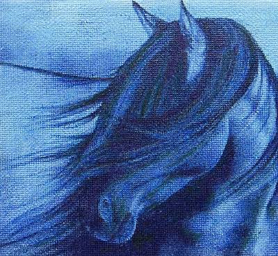 Resilience Painting - Feeling The Wind by Cara Frafjord