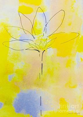 Painting - Feeling Zen by Julie Hoyle