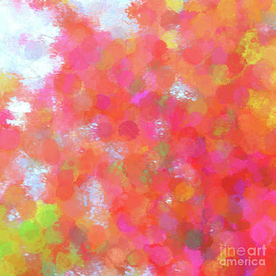 Drippy Digital Art - Feelings Of Joy - Abstract Art by Scott Cameron