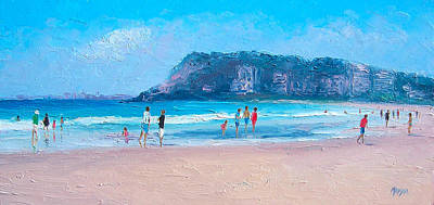 Feels Like Summer At Burleigh Heads Gold Coast Art Print