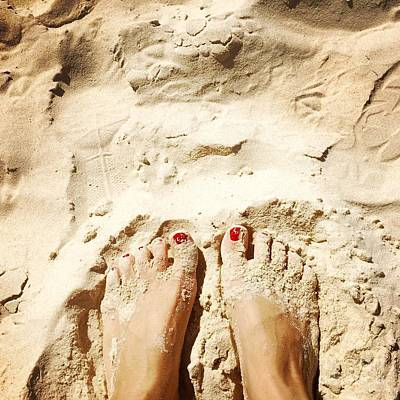 Photograph - Feet Around The World #4 by Edit Kalman