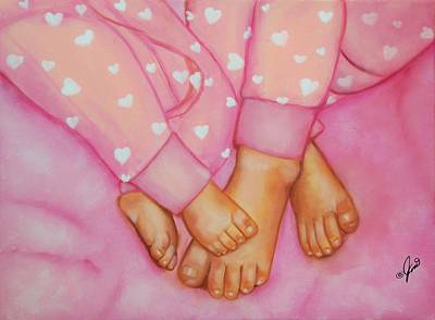 Painting - Feet Fete by Joni McPherson