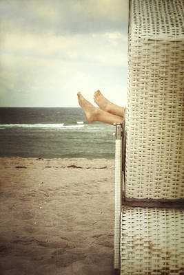 North Sea Photograph - Feet by Joana Kruse