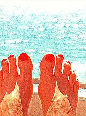 Feets Don't Fail Me Now Art Print