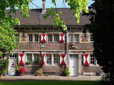 Maastricht Wall Art - Photograph - Feilzustersklooster Convent Maastricht Netherlands by Louise Heusinkveld