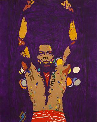 Queen Rights Managed Images - Fela Live Royalty-Free Image by Stormm Bradshaw