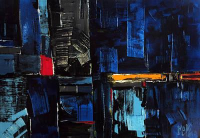 Painting - Feldenkrais by Rick Baldwin