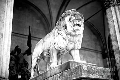Photograph - Feldherrnhalle Lion by John Rizzuto