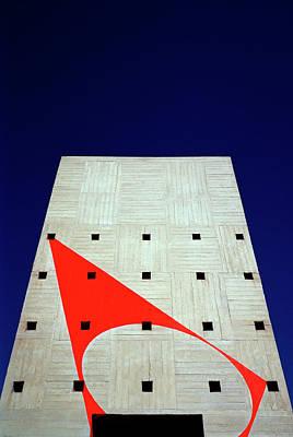 Photograph - Felice Varini Geometry by Shaun Higson
