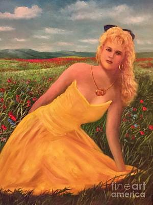 Painting - Felicia by Randol Burns