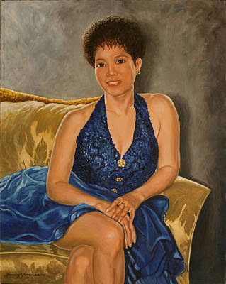 Painting - Felicidad by Rosencruz  Sumera