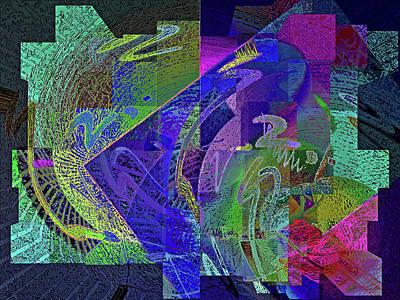 Digital Art - Felicitude 26 by Lynda Lehmann