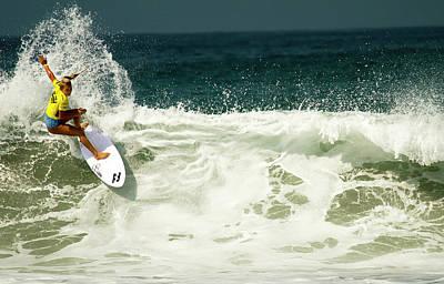 Photograph - Felicity Palmateer Australian Surfer Girl by Waterdancer