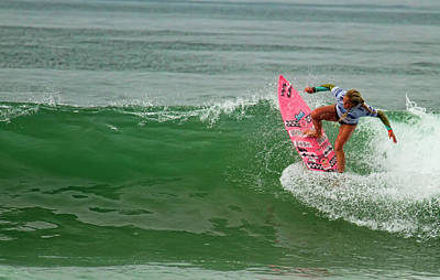 Photograph - Felicity Palmateer Surfer Girl by Waterdancer