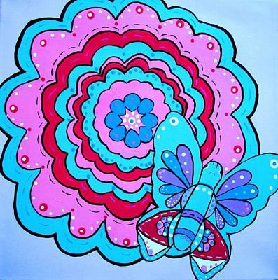 Felicity's Flower Art Print
