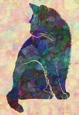 Feline Art Print by Jack Zulli