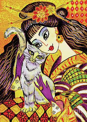 Feline Rhapsody Art Print