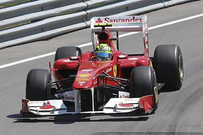 Photograph - Felipe Massa by Art Ferrier