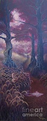 Prometheus Painting - Felista by Shauna Eggleston
