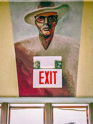 Photograph - Fellini's Exit - Nola by Kathleen K Parker