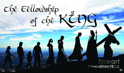 Photograph - Fellowship Of The King by Sharon Soberon