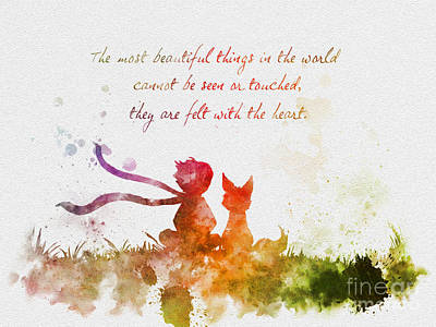 Felt With The Heart Art Print by Rebecca Jenkins