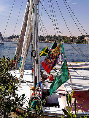 Photograph - Felucca Rigging by Debbie Oppermann