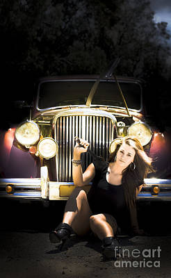 Photograph - Female Auto Mechanic by Jorgo Photography - Wall Art Gallery