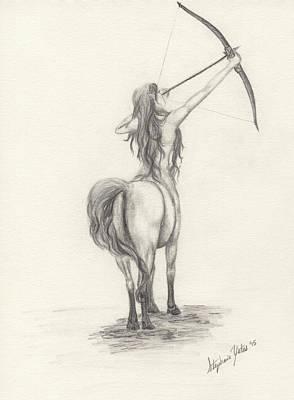 Female Centaur Original