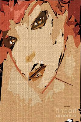 Digital Art - Female Expressions 817 by Rafael Salazar