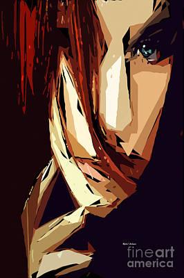 Fleetwood Mac - Female Expressions XIII by Rafael Salazar