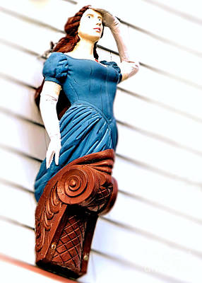 Photograph - Female Figurehead by Janice Drew