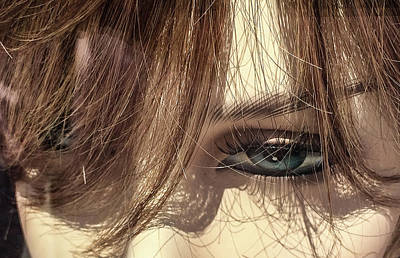 Photograph - Female Mannequin's Eye by Patrice Zinck