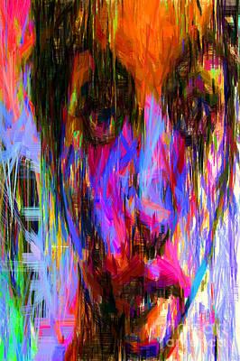 Digital Art - Female Portrait 0130 by Rafael Salazar