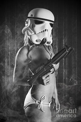 Female Trooper Art Print