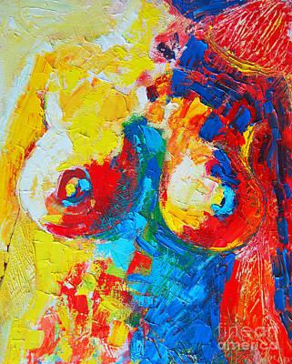 Female Torso Painting - Female Torso by Ana Maria Edulescu