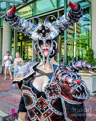 Photograph - Female Warrior Bull - Nola by Kathleen K Parker