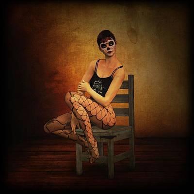 3d Computer Graphics Digital Art - Feminine Expression by Zin Shades
