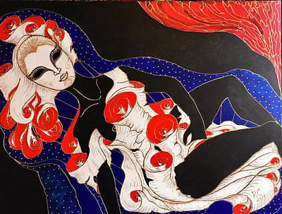 Painting - Feminine Mystique by Rae Chichilnitsky