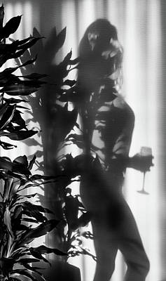 Photograph - Feminine Shadows by Karen Wiles