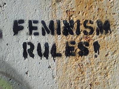 Photograph - Feminism Rules by Michael Hoard