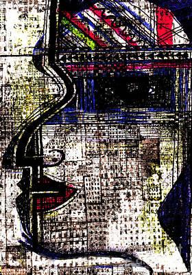 Archetype Digital Art - Femme 1 by Andy  Mercer
