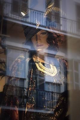 Photograph - Femme Au Chapeau De Noir by Nadalyn Larsen
