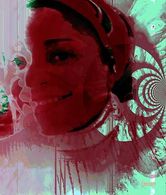 Diaspora Mixed Media - Femme Creole by Fania Simon