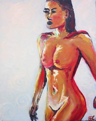 Femme Fatale Art Print by Britta Loucas