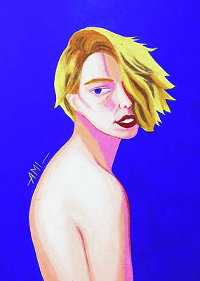 Femme Fatale No.4 Art Print by Ami Sea
