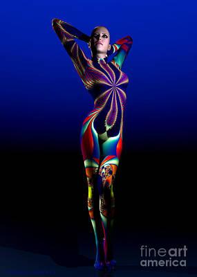 Digital Art - Femme Fatale by Sandra Bauser Digital Art