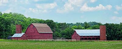 Photograph - Femme Osage Valley Farm by Cricket Hackmann