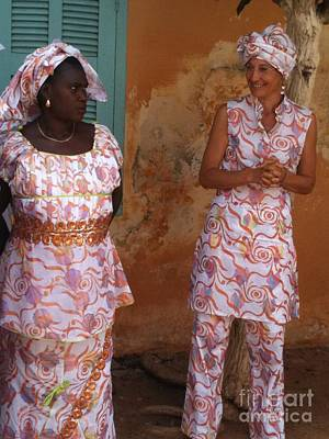 Femmes De Goree Art Print by Fania Simon