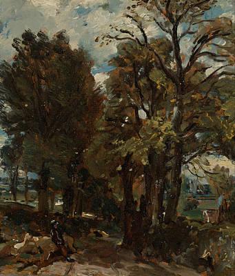 Painting - Fen Lane East Bergholt by John Constable